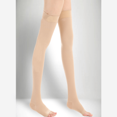 Thigh Length Graduated Compression Stockings